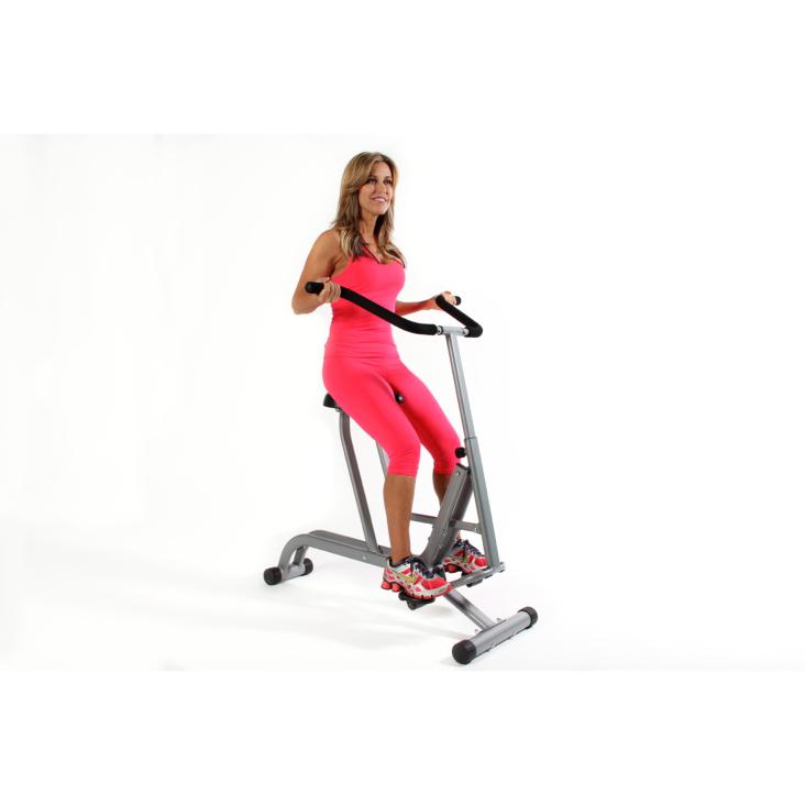 Woman workout on Brenda DyGraf's FitRider X