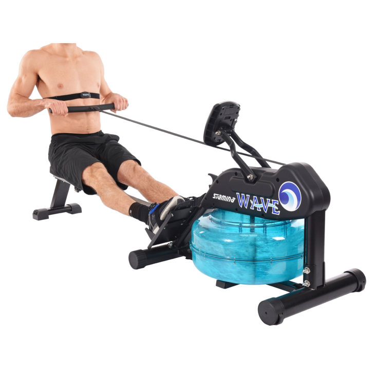 Stamina Products Elite Wave Water Rowing Machine at home use gym equipment