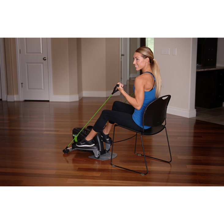 Woman workout on InMotion Compact Strider