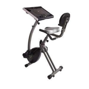 Wirk Ride Exercise Bike Workstation and Standing Desk from Stamina Products