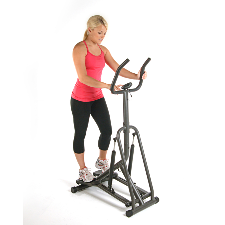 Woman workout on Avari Free Stride Stepper
