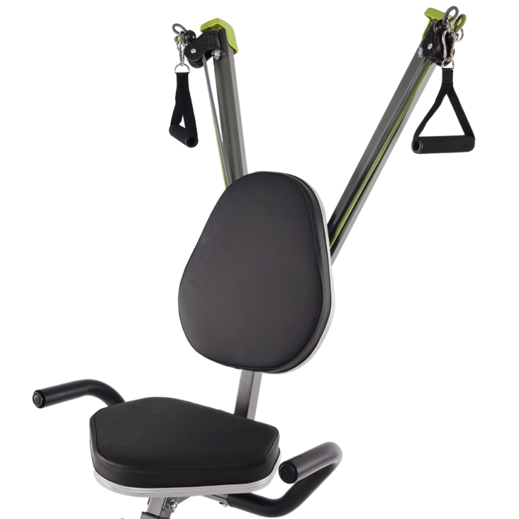 Wirk Ride Exercise Bike and Strength System Padded Seat.